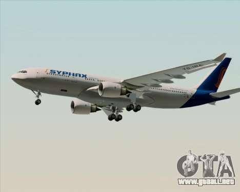 Airbus A330-200 Syphax Airlines para GTA San Andreas interior