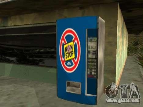 La máquina con la bebida Sin Dejar de Stalker para GTA San Andreas
