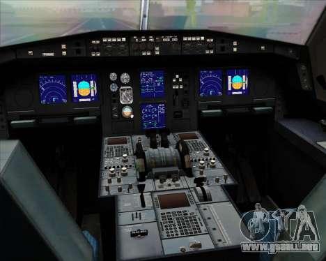 Airbus A330-300 Air Canada para GTA San Andreas interior