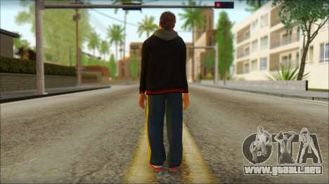 GTA 5 Ped 20 para GTA San Andreas segunda pantalla