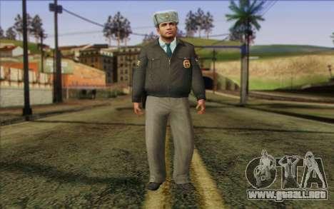 La Policía De Rusia De La Piel 3 para GTA San Andreas