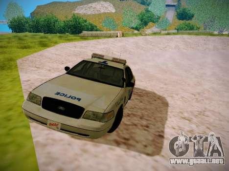 Ford Crown Victoria Toronto Police Service para GTA San Andreas left