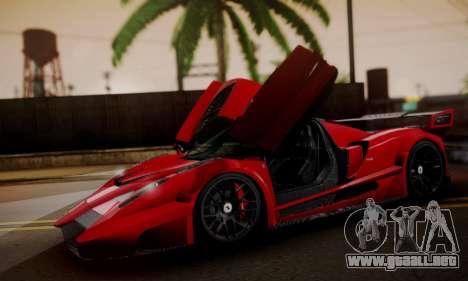 Ferrari Gemballa MIG-U1 para la visión correcta GTA San Andreas