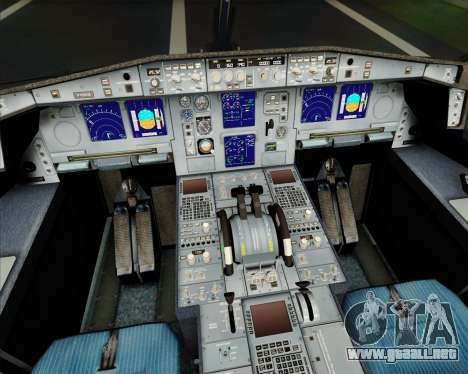 Airbus A340-313 Turkish Airlines para el motor de GTA San Andreas