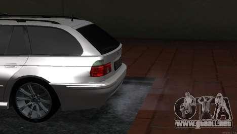 BMW 530d para la visión correcta GTA San Andreas