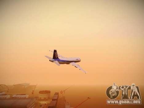 Airbus A320-211 All Nippon Airways para visión interna GTA San Andreas