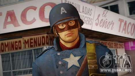 Captain America v2 para GTA San Andreas tercera pantalla