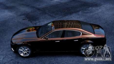 GTA 5 Lampadati Felon para GTA 4 Vista posterior izquierda