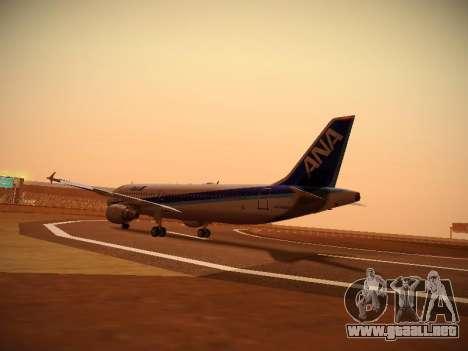 Airbus A320-211 All Nippon Airways para la visión correcta GTA San Andreas