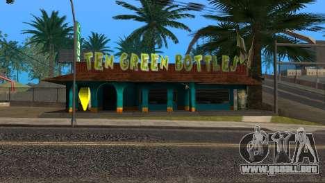 Nuevo bar en Ganton para GTA San Andreas quinta pantalla