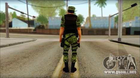 Skin Sedena Secretaria De La Defensa Nacional para GTA San Andreas segunda pantalla