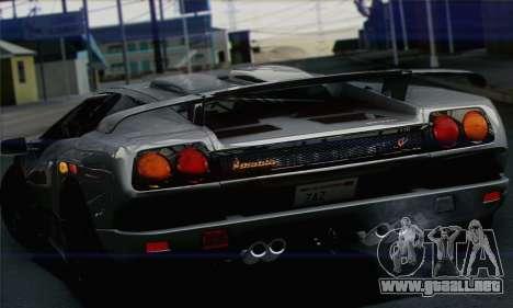 Lamborghini Diablo SV 1997 para GTA San Andreas left