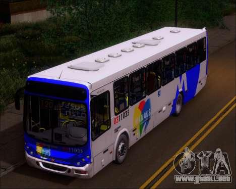 Marcopolo Torino 2007 Volksbus 17-230 EOD para GTA San Andreas vista hacia atrás