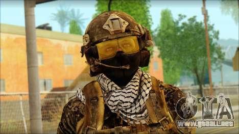 Combatiente de la OGA (MoHW) v3 para GTA San Andreas tercera pantalla