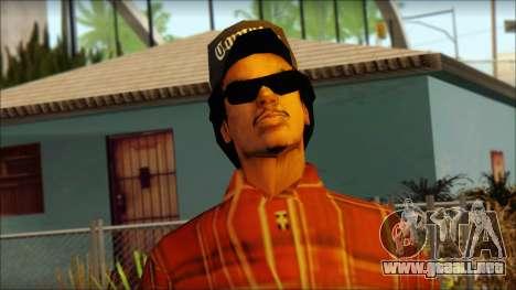 Eazy-E Red Skin v2 para GTA San Andreas tercera pantalla