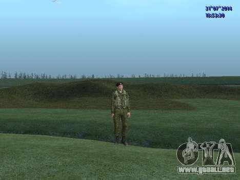 El Oficial De La Infantería De Marina para GTA San Andreas tercera pantalla