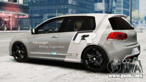 Volkswagen Golf R 2010 Driving Experience para GTA 4 left