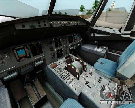 Airbus A320-232 British Airways para las ruedas de GTA San Andreas