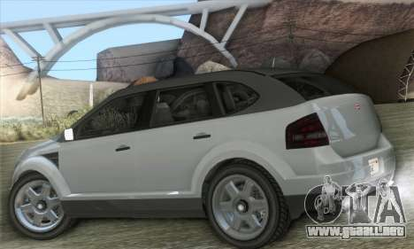 Vapid Radius 1.0 (HQLM) para GTA San Andreas left