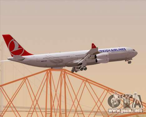 Airbus A340-313 Turkish Airlines para GTA San Andreas