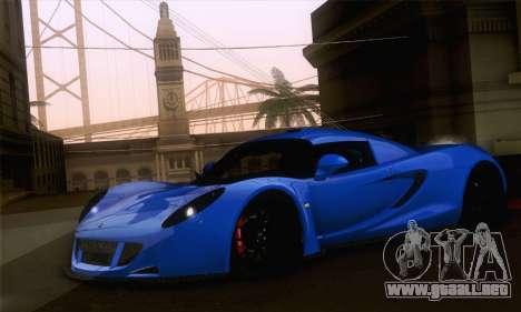 Hennessey Venom GT para GTA San Andreas left