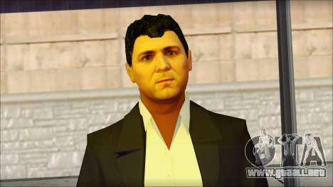 Michael from GTA 5v1 para GTA San Andreas tercera pantalla