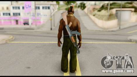 MR T Skin v5 para GTA San Andreas segunda pantalla