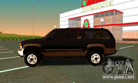 GMC Yukon XL ФСБ para la visión correcta GTA San Andreas