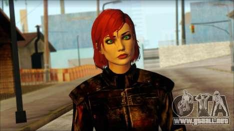 Mass Effect Anna Skin v6 para GTA San Andreas tercera pantalla