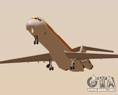 McDonnell Douglas MD-82 Iberia para visión interna GTA San Andreas
