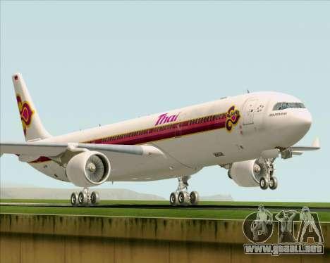 Airbus A330-300 Thai Airways International para GTA San Andreas left