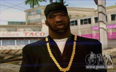 N.W.A Skin 2 para GTA San Andreas tercera pantalla