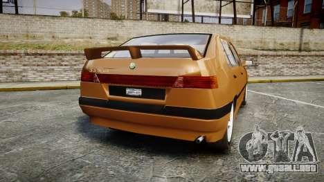 Alfa Romeo 33 1991 para GTA 4 Vista posterior izquierda