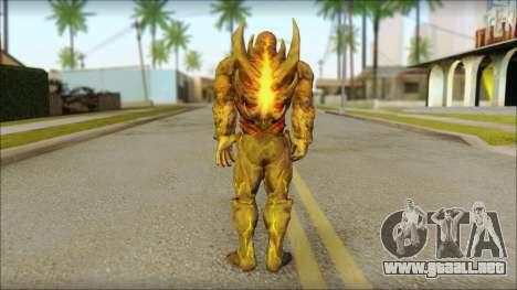 Dark Kahn from MK vs DC para GTA San Andreas segunda pantalla