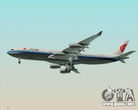 Airbus A340-313 Air China para GTA San Andreas