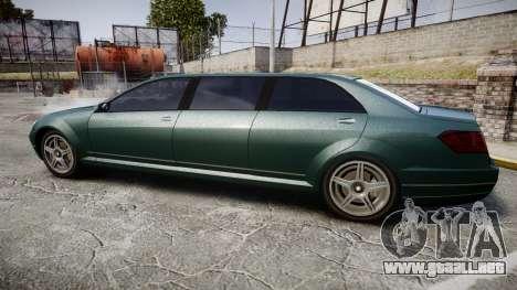 Benefactor Schafter Limousine para GTA 4 left