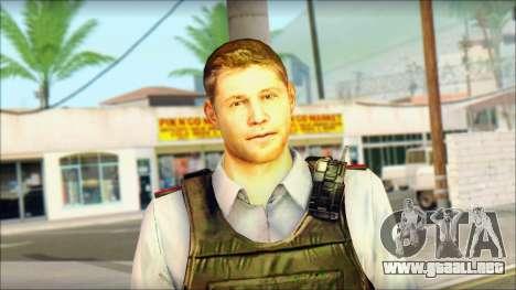 Un oficial de policía de la CT SC: la Condena para GTA San Andreas tercera pantalla