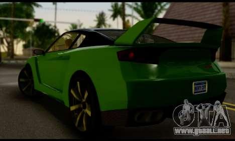 GTA V Elegy RH8 Twin-Turbo (IVF) para GTA San Andreas left