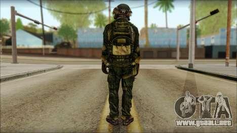 Combatiente de la OGA (MoHW) v2 para GTA San Andreas segunda pantalla