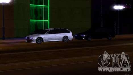 BMW 530d para visión interna GTA San Andreas