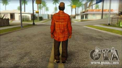 Eazy-E Red Skin v2 para GTA San Andreas segunda pantalla