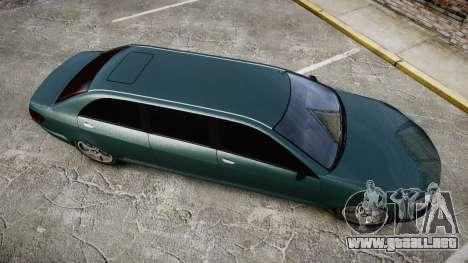 Benefactor Schafter Limousine para GTA 4 visión correcta