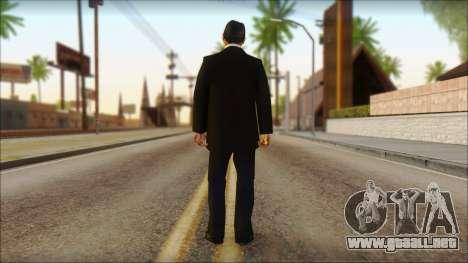 Michael from GTA 5v1 para GTA San Andreas segunda pantalla