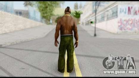MR T Skin v3 para GTA San Andreas segunda pantalla
