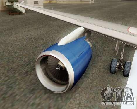 Airbus A320-232 British Airways para el motor de GTA San Andreas