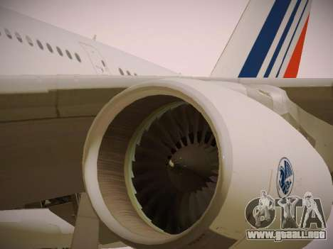 Airbus A380-800 Air France para el motor de GTA San Andreas