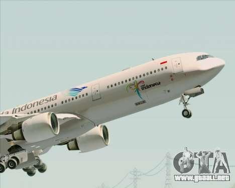 Airbus A330-300 Garuda Indonesia para el motor de GTA San Andreas
