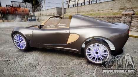 Lotus Exige para GTA 4 left