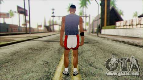 Wmyjg from Beta Version para GTA San Andreas segunda pantalla