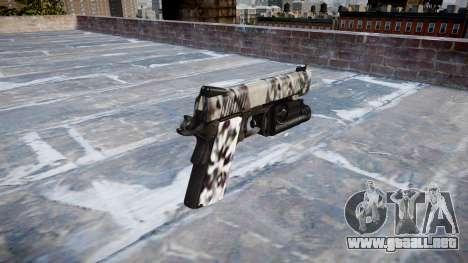 Pistola De Kimber 1911 Diamante para GTA 4 segundos de pantalla